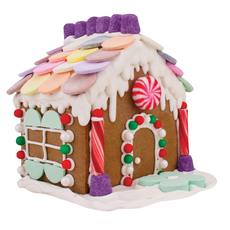 2 Piece Gingerbread House Cookie Cutter Kit