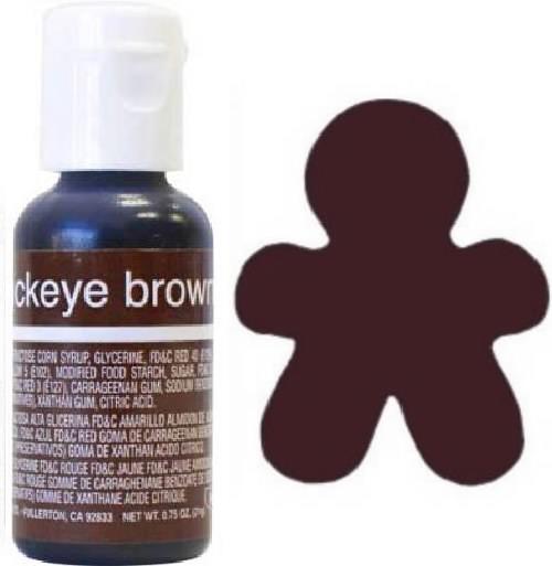 Liqua-Gel Food Coloring Buckeye Brown ~ The Cookie Cutter Shop